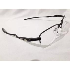 fbb69ac20 Armação Oculos Oakley Mod Crosshair Na Cor Aço Escovado - Óculos no ...