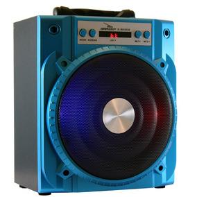 Caixa De Som Bluetooth Speaker Fm Sd Usb Portátil D-bh 2030