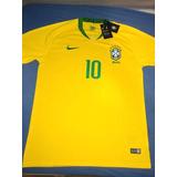d5125b3724 Camiseta Nike Brasil Cbf Canarinho no Mercado Livre Brasil