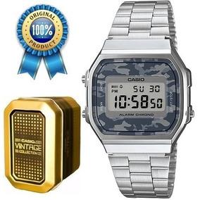 6027d7f69be1 Casio A168 Retro Vintage Clasico - Reloj para Hombre en Mercado ...