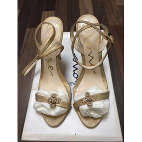 Sandalias Marca Dione, Color Oro. Nuevas!