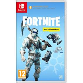 Jogo Fortnite Deep Freeze Bundle Nintendo Switch