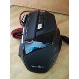 Mouse Gamer Alambrico Weibo X7 2400dpi