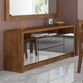 Conjunto De Sala De Jantar Completo Com Buffet E Espelho Sala De