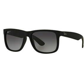 4b58fb8717e2b Oculos Masculino Quadrado Reto - Óculos De Sol Ray-Ban Justin no ...