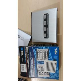 Unidade Externa De Porteiro Eletrônico Duplo 4 Botões Hdl
