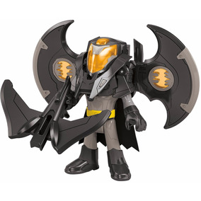 Muñeco Batman, Armadura Drone, Fisher-price, 3 Pulg 7 Cm,