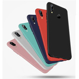 Silicona Tpu Colores Huawei P20 Lite