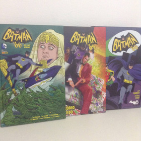 3 Encadernados - Batman 66
