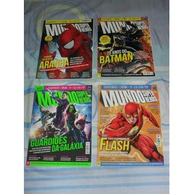 Lote Com 40 Revistas Mundo Dos Super-heróis