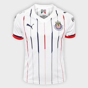 Playera Niño Jersey Puma Chivas Visita 18-19 Original 100% 4e31068c17a16