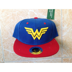 Wonder Woman Dc Cómics Gorra Unitalla Ajustable Bordada 961c77cdaad