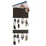 Porta Llaves Pared Organizador Llavero Chocolate 3