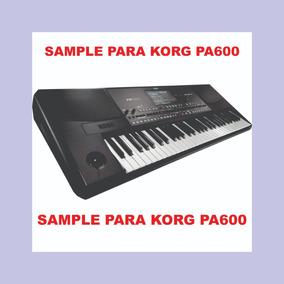 Sample Para Teclado Korg Pa600