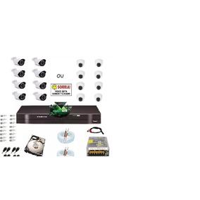 Kit 8 Cam Full Hd Alta Definição 1080p + Dvr Intelbras 1008