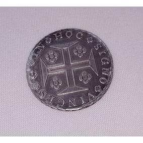 Moeda Antiga Portuguesa De Prata 400 Réis De 1816