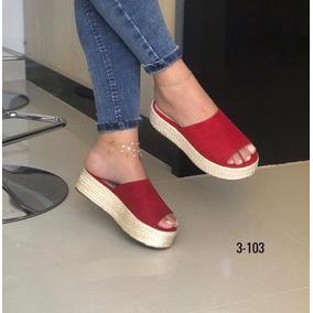Sandalia Alta Para Damas
