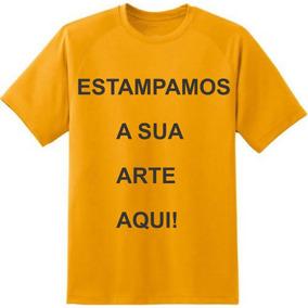 Camisetas Cor Laranja E Personalizada P Ao Gg