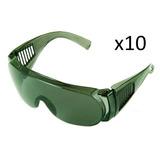 10 (dez)óculos Sobrepor Epi Proteção Kalipso - Panda - Verde 3563aeb8bb
