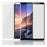 2 Películas Full Cover 2.5d Xiaomi Mi Max 3 Sem Bolhas
