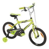 Bicicleta Infantil Aro 16 Huffy Pro Thunder Verde