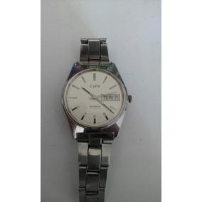 1372a82ac08 Relógio Eska 21 Rubi Automatic Parado P consertar(26a).