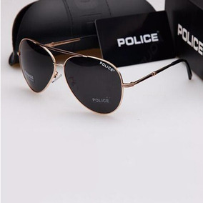 f0d8d174ddb3d Oculos De Sol Police Masculino Dourado - Óculos no Mercado Livre Brasil