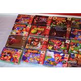 Cajas De Cartucho N64 Nintendo Custom Con Contenedor Y Film.