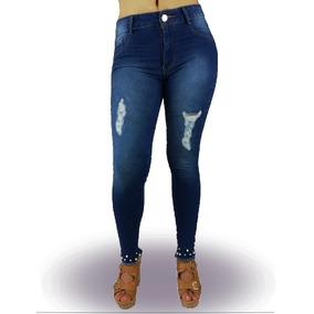 Jeans Dama Corte Colombiano Pantalon Ropa Mujer Push Up Cap