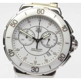 a5fe877d132 Relógio Tag Heuer F1 Ceramic 12 Diamond Chronograph Ladies