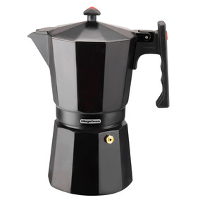 Cafetera Greca 3 Tazas Negra Magefesa