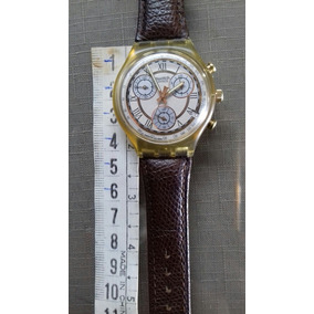 cf3c388a0b1 Relogio Swatch Masculino Serie Ouro - Relógios De Pulso