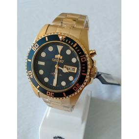06baa858f42 Relogio Orient Banhado Ouro Automatico Masculino - Relógios De Pulso ...