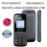 Celular Simples Modelo Lg B220 Original Ligação, Radio, Etc