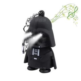Chaveiro De Led Darth Vader Com Luz E Som