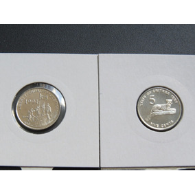 Moeda Da Eritréia - 5 Centavos - 1997 Fc