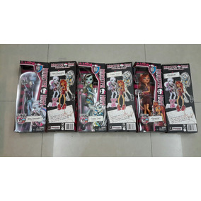 Monster High Coffin Bean Abbey Bominable, Frankie Y Toralei.