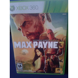 Max Payne 3 X-box 360 Rockstar Games