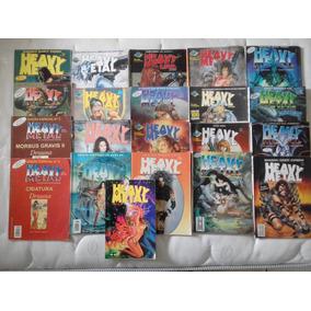 Coleção Heavy Metal 21 Revistas Druuna