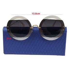 Oculos Redondo Branco Miu - Óculos no Mercado Livre Brasil 8c352911c3