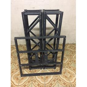 Kit Treliça Estrutura Box Truss Q25 Aço