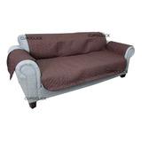 Funda Cubre Protectora Reversible Sofa Sillon 3 Cuerpos