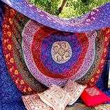 Mandala Indio Tapiz Playa Manta Hippy Boho Gypsy Algodon Man