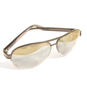 Óculos De Sol Preto Aviador Degrade Detalhado Barato F73 F72 0ccb3834d4