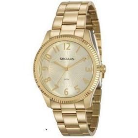 Relógio Seculus Feminino 20568lpsvds1, C/ Garantia E Nf