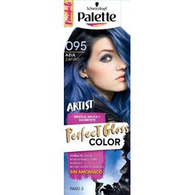 Coloración Semipermanente Azul Zafiro