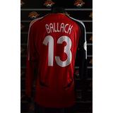 Camisa Alemanha Seleção Futebol Michael Ballack Adidas - Futebol no ... 3f65192c94cc8