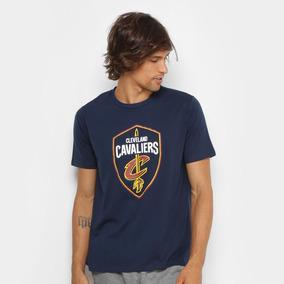 30b4f9e25 Camiseta Cleveland Cavaliers Azul - Camisetas Manga Curta no Mercado ...