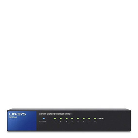 Switch 8 Puertos Switch Ethernet Linksys Se3008
