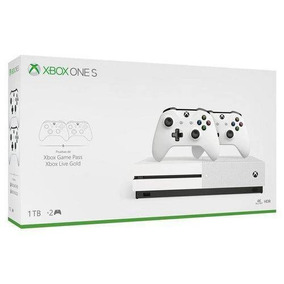 Xbox One S , 1tb, 4k, Slim, 02 Controles - Envio Imediato!